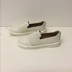 Clarks women's slip on sneakers size 8